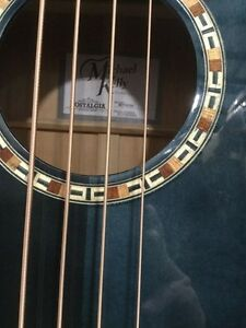 Michael Kelly Firefly Premium Acoustic Electric Bass like New London Ontario image 4