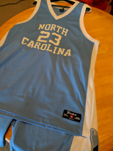 Bought from Nike Outlet. Nike UNC Jordan Jersey & Shorts Championship 2XL