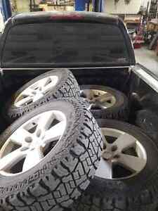 09 Dodge 1500 rims and tires