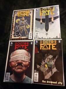 Dr Fate 2015 issues 1-4