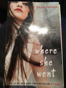 """""""Where She Went"""" book"""