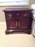Cherry night stand / table