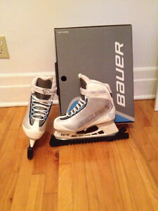 2 paires Patins Hockey Bauer