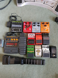 Effects pedals & jamstick+