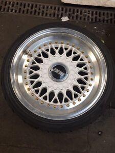 Porsche 911 BBS RS 3 piece wheels for VW fitment
