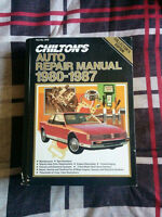 Chilton Automotive Repair Manual 1980-1987