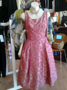 Vintage 60s Party Pinup Dress
