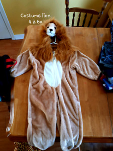 Costume Lion, enfant