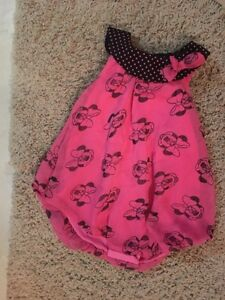 Pink Disney baby romper - new with tags.