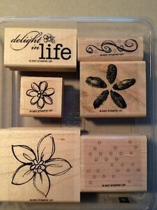 Various Stampin Up Wood Stamp Sets $5 Each