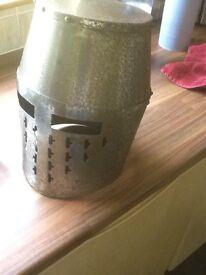 Medieval steel helmet