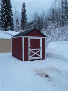 8x12 storage shed cabin