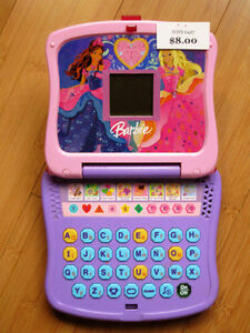 Barbie Junior Laptop - Learning Fun!  8 Activities London Ontario image 1