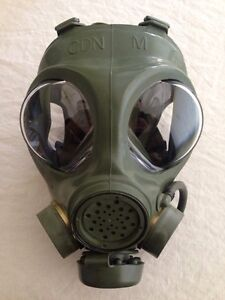 Wanted Canadian C4 gas mask size small