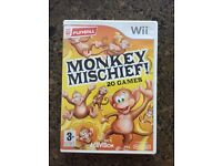 Nintendo wii Monkey Mischief Game