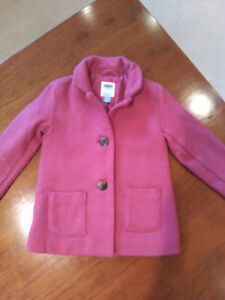 Old navy size 5 pink wool jacket