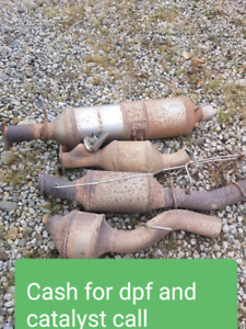 Cash for dpf and catalytic converters $$$