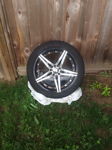 Achilles 17 inch tires w/ rims (from 2002 VW Jetta)
