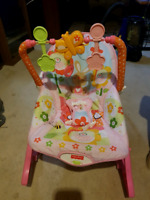 Fisher price and safety first bouncer