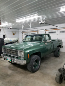 1978 Chevrolet Silverado K10 Short Box 4x4