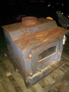 Fire place. Wood stove