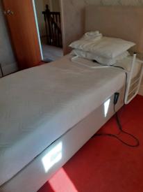 Single electric divan Bed