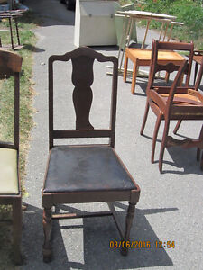 Two Vintage Chairs Peterborough Peterborough Area image 1