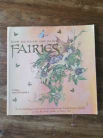 How to draw and paint fairies book