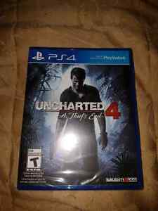 Uncharted 4 brand new *sealed*