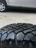 Selling GSR Hammerhead rims with Winter Tires!!