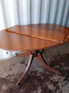 Solid wood dining  vintage table