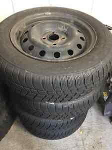 Barum POLARIS3 Winter Tires (185/65 R 15) Kitchener / Waterloo Kitchener Area image 1