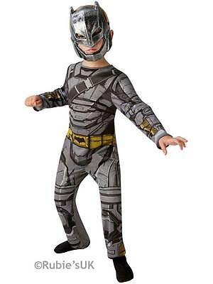 Boys Batman Costume Total Armour Superhero Halloween Fancy Dress Child Outfit ()