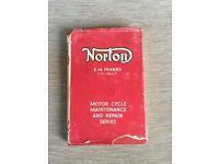 Norton motorcycle book