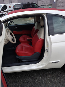 # FIAT 500C #  WOW!!! REALLY LOW KMS/ NO ACCIDENTS