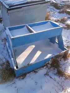 Rolling Wood Cart **Bolt Bin - Flower Box - Tool Cart**