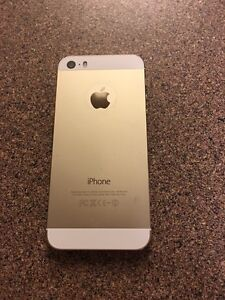 iPhone 5s gold 32 gb bell