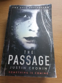 Book used The Passage Justin Cronin someting is coming bestseller