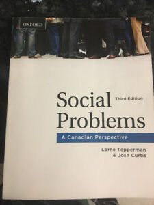 Social Problems (A canadain perspective)  third adition