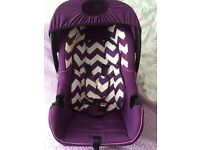 Baby car seat group 0+ new