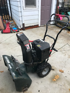 "Craftsman 24""/9.0 HP Snowblower For Sale"