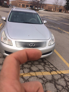 2007 infiniti G35x with safety &emission