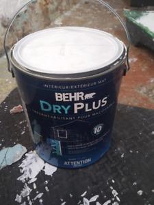 Behr Dry Plus Waterproofing Paint