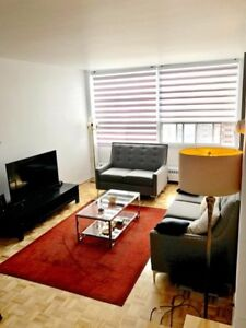 Sublet from Dec16-Jan16-3.5 apartment 3 min walk to Concordia