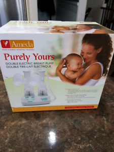 Ameda double electronic breast pump
