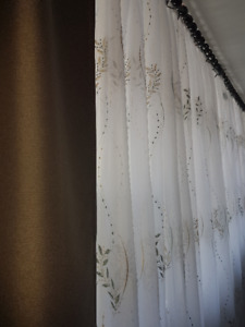 Window Curtains / Moving Sale