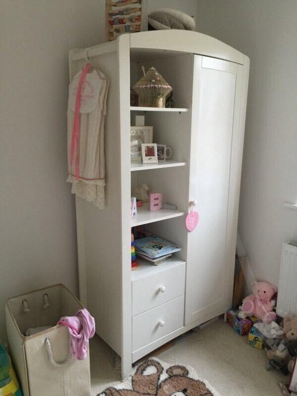 Baby nursery wardrobe White childrens wardrobe padstow ...
