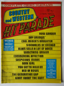 COUNTRY AND WESTERN. HIT PARADE. 1971.  ( voir infos).