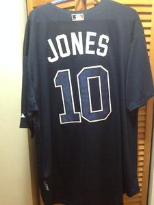 Chipper Jones Atlanta Braves jersey 3xl