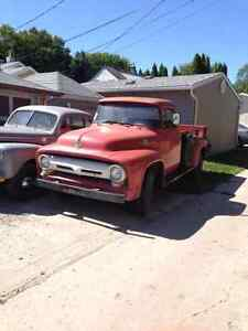 1956 ford f350 barn find